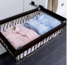 New Cabinet Storage Steel Laundry Basket pictures & photos
