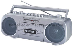 Cassette Recorder Cassette Player with USB FM TV MW Sw pictures & photos