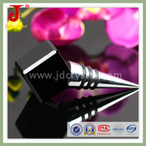 Hot Selling Wedding Decoration Square Crystal Wine Stopper pictures & photos
