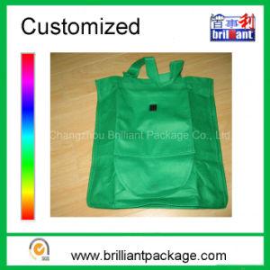 Reusable Non Woven Folding Shopping Bag Tote Shopping Bag pictures & photos