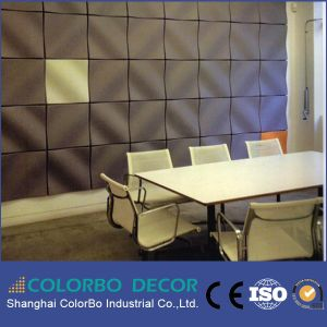 Interior Wall Decoration Polyester Fiber 3D Acoustic Panel pictures & photos