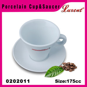 Pottery Dinner Room Coffee Shop Chaozhou Cup and Saucer Set pictures & photos