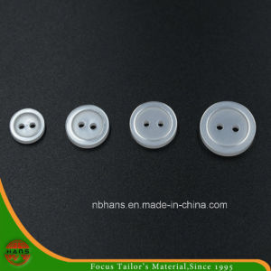2 Holes New Design Polyester Shirt Button (S-113) pictures & photos