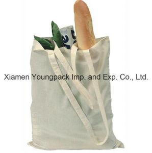 Eco Friendly Reusable 100% Organic Cotton Canvas Supermarket Grocery Bag pictures & photos