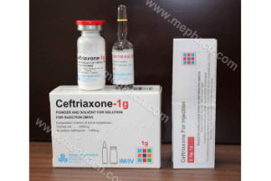 Ceftriaxone for Injection 1g, Ceftriaxone for Injection 500mg pictures & photos