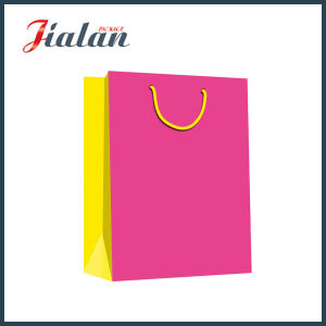 Solid Color Print Gift Paper Bag pictures & photos
