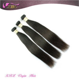 Xbl Straight Natural Brazilian 100% Virgin Human Hair pictures & photos