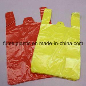 Plastic Custom Printed T-Shirt Bag for Shopping