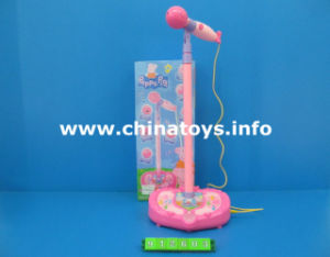 Microphone Toy with Light and Music and MP3 (912603) pictures & photos