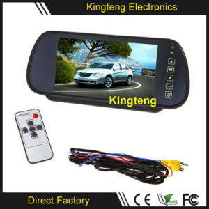 7.0 Inch LCD Digital Car Rear View Mirror Monitor with Remote Control