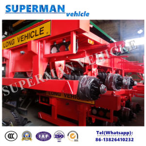 Container Frame Skeleton Semi Truck Trailer Chassis for Sales pictures & photos