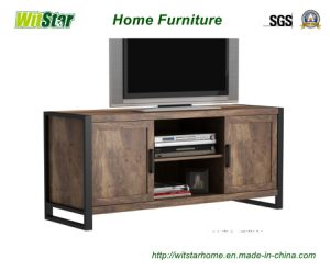 New Metal Wooden TV Stand (WS16-0053, for home furniture)