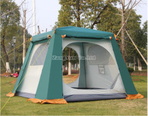 Outdoor 4-6 Person Suit Double Layer Big Camping Tent