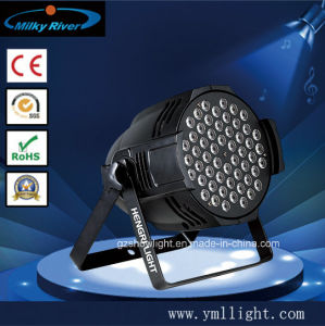 Popular 54X3w RGBW LED PAR Lighting R12, G14, B14, W14 pictures & photos
