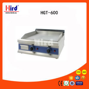 Gas Griddle (HGT-600) Half Flat&Half Ribbed/ Flat/ Mirror Plancha Ce