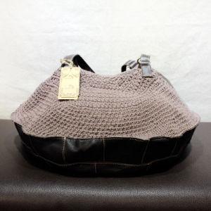 Hot Hand-Woven Cotton and Line Bag Female Shoulder Bag Women Genuine Leather Handbags
