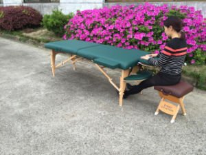 Foldable Table De Massage Popular in Europe Mt-006s-3 pictures & photos