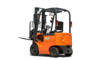 Electric Forklift Four Wheel 1500kg Battery Forklift pictures & photos