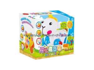 Battery Operated Toys with Flashing Light and Music for Children pictures & photos