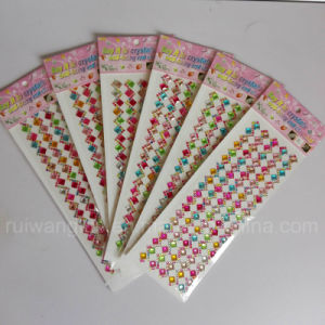 New Acrylic Crystal Rhinestone Sticker pictures & photos
