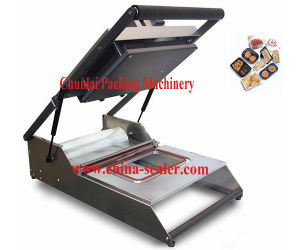 Manual Plastic Tray Sealing Machine pictures & photos