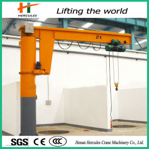 High Quality 360 Degree Slewing Arm Jib Crane pictures & photos