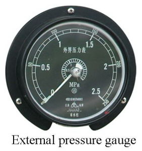 Special Pressure Gauges for Depth and Explosive etc pictures & photos