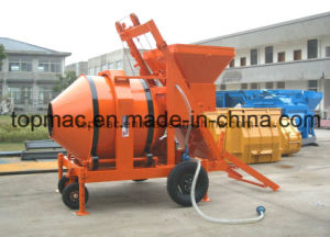 Top Supplier of Skid Steer Trailer Mounted Concrete Mixer pictures & photos