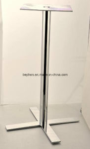Office Chrome Table Leg Steel Table Leg 1813