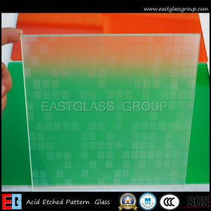 Frosted Acid Etced Glass for Bathroom/Door Glass pictures & photos