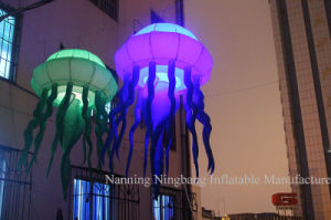Customized Stage Event Party Decoration Inflatable Jellyfish with LED Light pictures & photos