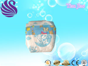 High Absorption and Soft Breathable Disposable Baby Nappy pictures & photos