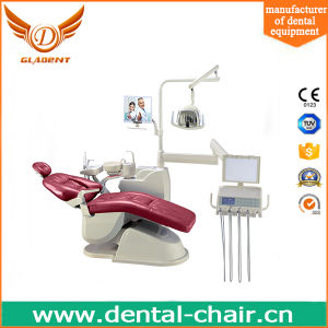 Taiwan Motor Type Dental Chair with Integrated Tissue Box pictures & photos