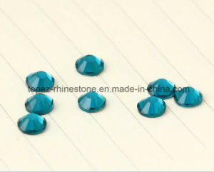Flat Bottom Bling Crystal Rhinestone Strass for Nail Art Design ((FB-ss20 blue zircon) pictures & photos