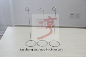 SGS Metal Price Tag Display Stand for Supermarket/Stores/Shops