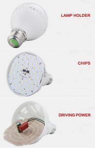 High Power Brightness White 5W E27 LED Bulb Lights pictures & photos