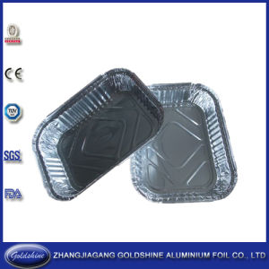 Popular Disposable Round Aluminium Foil Trays for Pizza pictures & photos