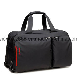 Waterproof Wheeled Trolley Fashion Leisure Travel Luggage Duffel Bag (CY3551) pictures & photos