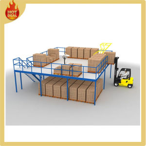 Steel Warehouse Multi-Level Mezzanine Rack pictures & photos