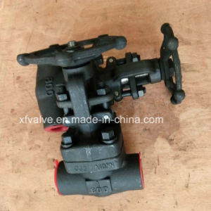 API602 800lb Forged Steel A105 Thread End NPT Globe Valve pictures & photos
