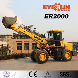 Everun Brand Telescopic Wheel Loader with CE Certificate (ER2000) pictures & photos