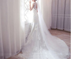 High Class Personal Ordered Wedding Dress (WD16001)