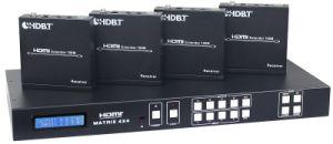 Hdbase HDMI Matrix 4X4 Over Cat5e/6/7 pictures & photos