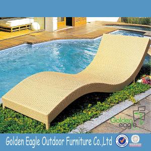 Leisure Patio Furniture Wave Shape Sun Chaise Lounge