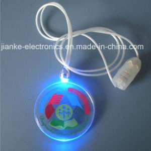 Flashing LED Christmas Light Necklace with Logo Print (2001) pictures & photos