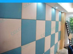 Fire-Resistance Interior Wall Fabric Acoustic Panel pictures & photos
