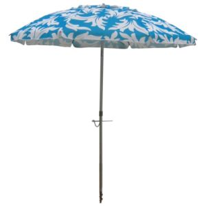 205cm Palm Heattransfer Printing Beach Umbrella pictures & photos