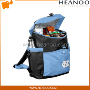 Lunch Food Wine Cooler Travel Bags Backpakcs with Bottle Holder pictures & photos