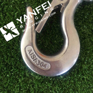 Stainless Steel Swivel Hook with Safety Latch pictures & photos