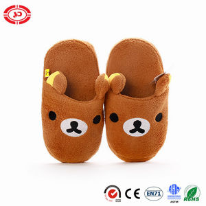 Plush Indoor Soft Warm Slipper Kids Shoes pictures & photos